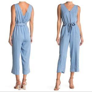 Laundry by Shelli Segal 100% Tencel ZipUp Jumpsuit